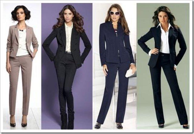 Ткани для женских деловых костюмов