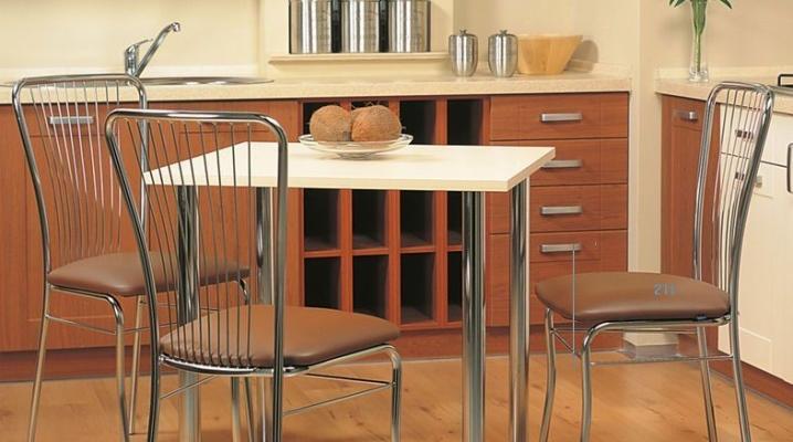 Металлические стулья для кухни и не только