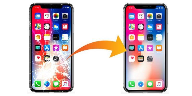 Качественная замена стекла на iPhone X
