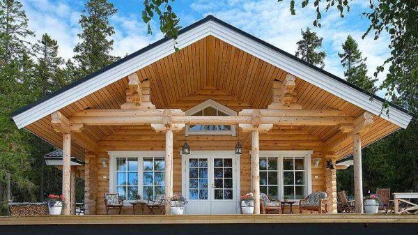 Постройка деревянного дома под ключ по доступной цене