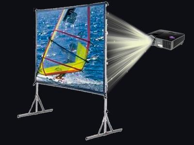 Покупка экрана для обратной проекции