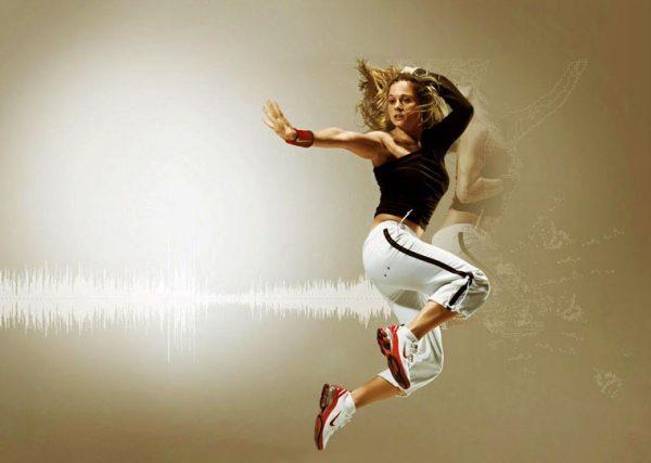 Музыка для занятий фитнесом или на звонок в смарфоне