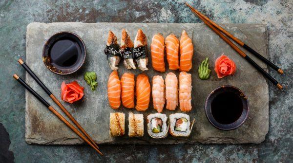Доставка суши и японской еды