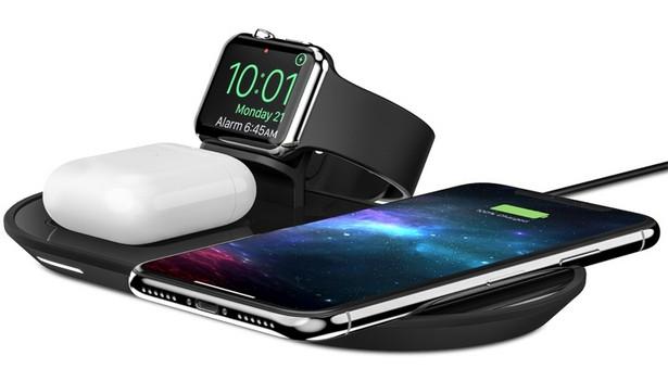 Беспроводная зарядка Mophie позволит вам одновременно заряжать 3 устройства от Apple