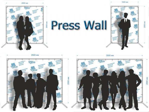 Изготовление пресс волла для любого мероприятия