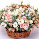 Широкий ассортимент корзин с цветами